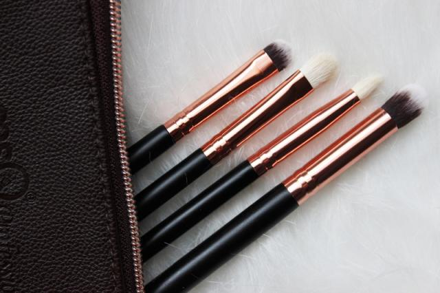 So soft goat hair makeup brushes!