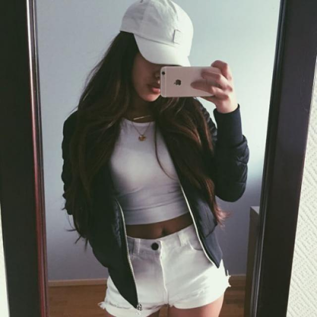 #TTIL I love bomber jackets and baseball hat ♥♥♥