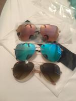 Lightweight Mirrored Pilot Sunglasses Reviews
