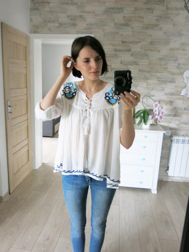 Emroidered blouse