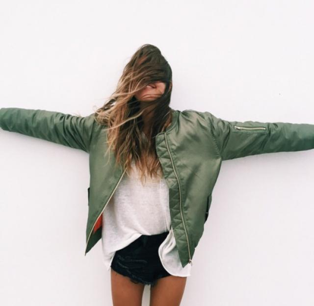I'm super fan of bomber jackets!♥♥♥♥