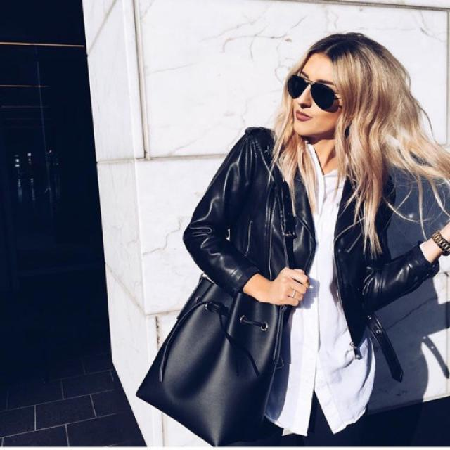 Black jackets are perfect for every outfit!♥♥♥♥
