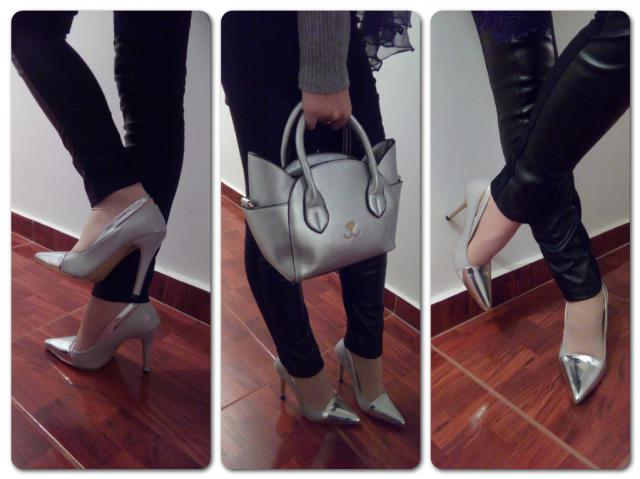 My shoes and my bag from Zaful. You can find my full review on my blog:
