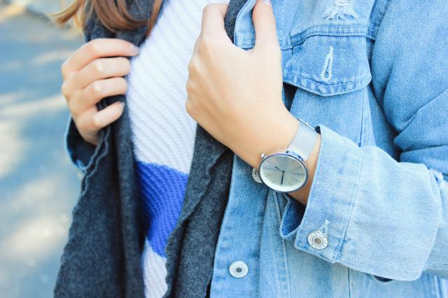Love the combo of this jacket and this watch!
