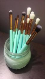 Nylon Eye pinceaux de maquillage Set Reviews  Blue