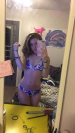 Halter Flower Bralette Cute Bathing Suit Reviews - White M
