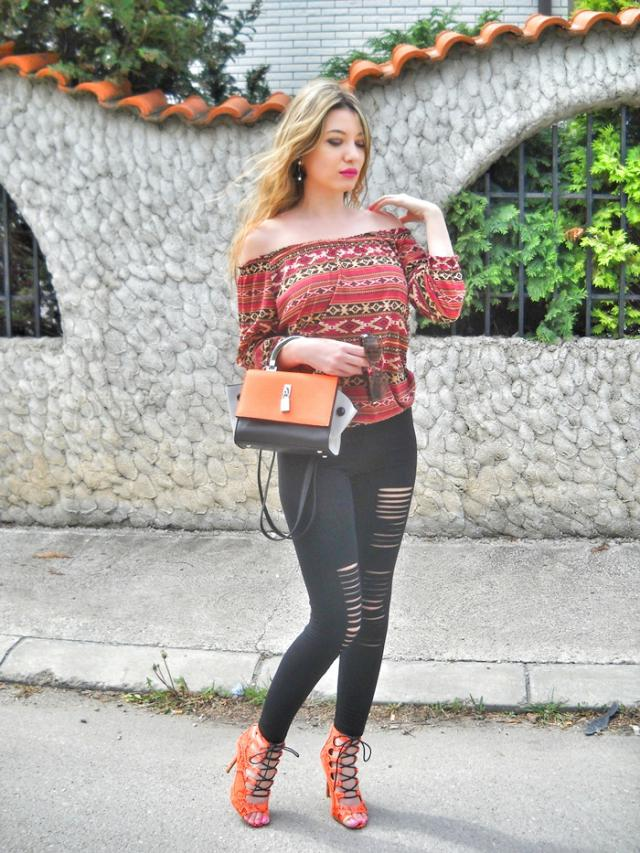 In love with this leggings #zaful #ootd #outfit #style #fashion 
