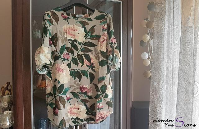 new floral #blouse from #Zaful 