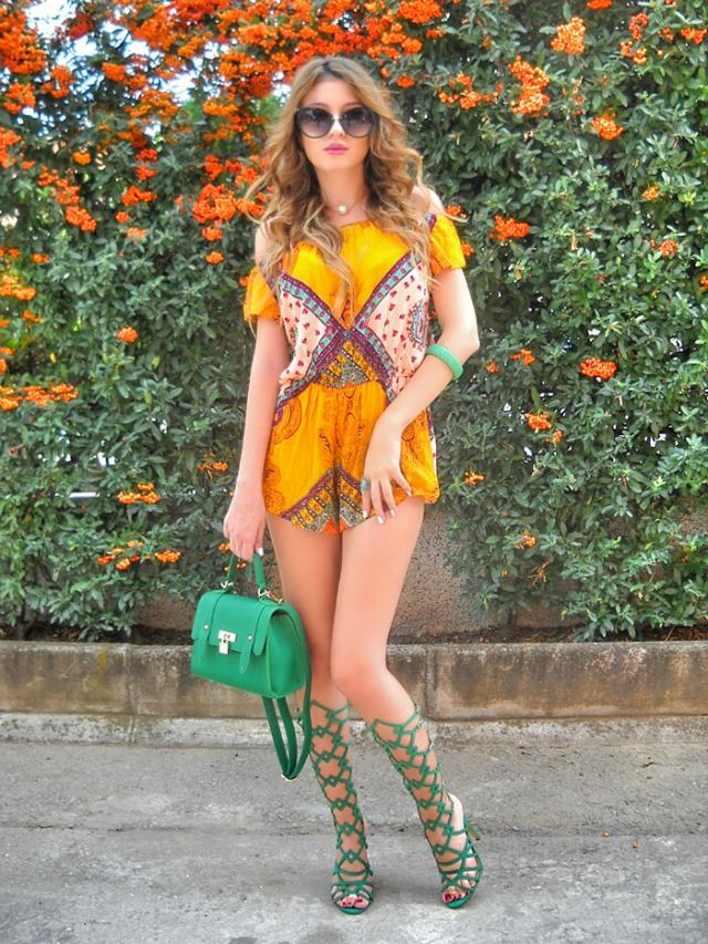 Amazing romper      My post http://itsmetijana.blogspot.rs/2016/09/in-love-with-this-romper.html