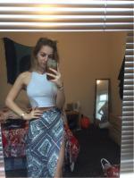 Argyle Print High Waist High Low Skirt Reviews