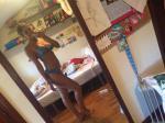 Cami Frilly High Leg Bikini Reviews - Blue M