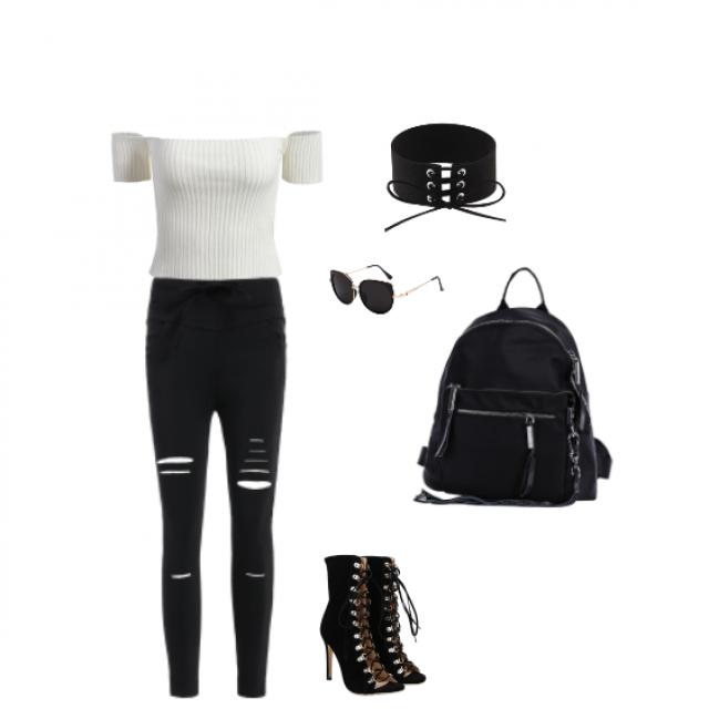 #dressforidol Kind of like Kendall Jenner\'s edge style.