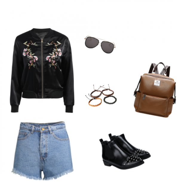 Sofia Richie would definitely wear this! She often choose black clothes, but also prints, embroidery and cu…