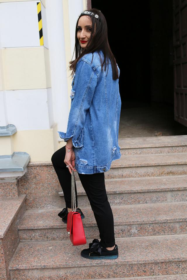 Adore my denim jacket from