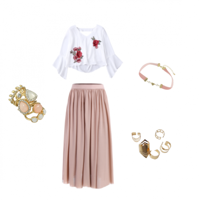#springcasual #springlook #weekendvibe #casual #zaful #outfitideas