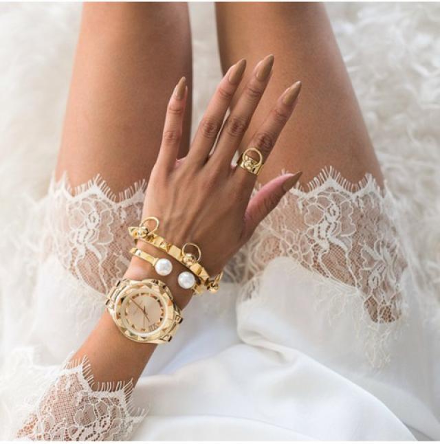White is perfect for summer #girl #nailart #coachella2017 #springbreak2017 #zafulhits #gotolook