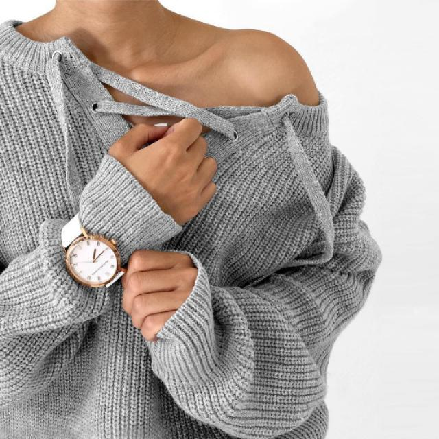 I love this gray sweater!♥ do you like it? let me know in the