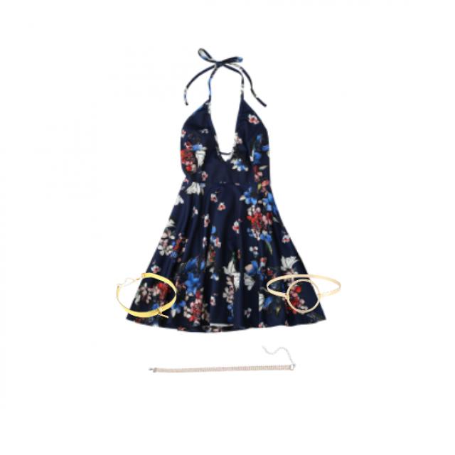 #thongbikini #floralprint #embroidery #springbreak2017 #zafulhits
