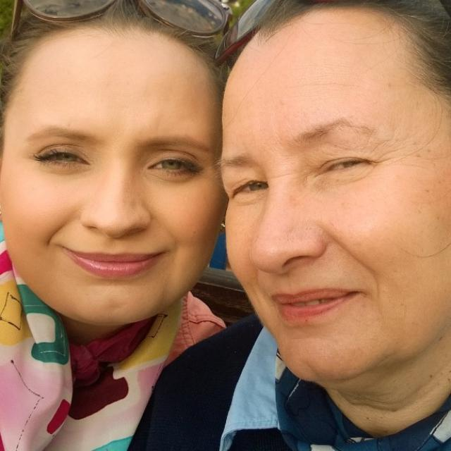 Me and my Mother <3
