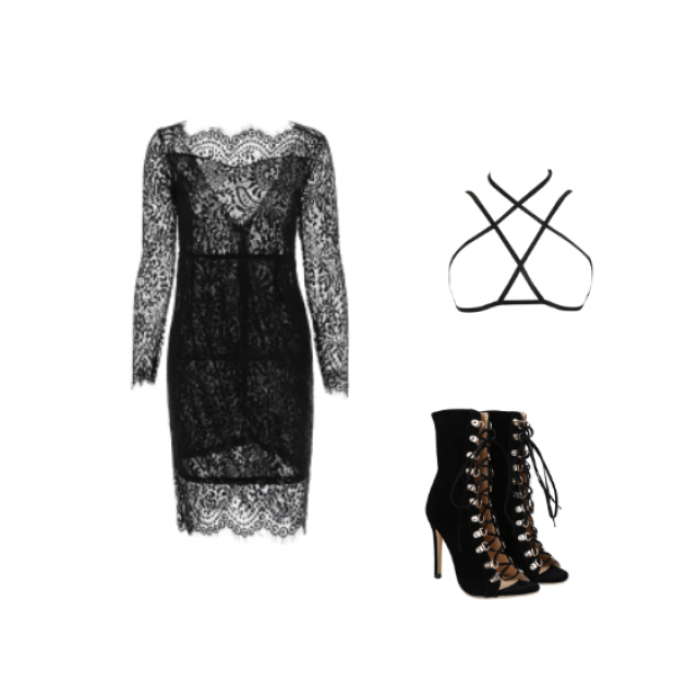 #lace #dress #elegant more  inspirations: www.anetaaneta.pl