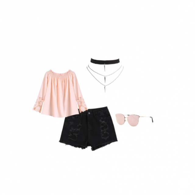#Summer outfit, also try it with black or blue jeans  #denimlove #dressforidol #gotolook #loveselfie