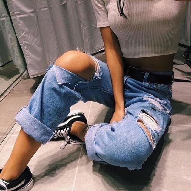 always dress like is the best day of your life  ♥ #denim #nailart #denimlove #outfit #tumblr #ootd #springbreak2017