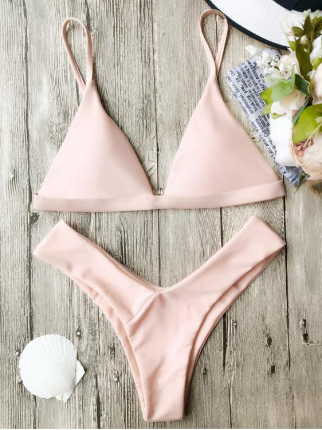 Pink bikini! #pink #bikini #tumblr #model #summer #hot #sexy#dressforidol #nailart #shoeslover #springbreak2017
