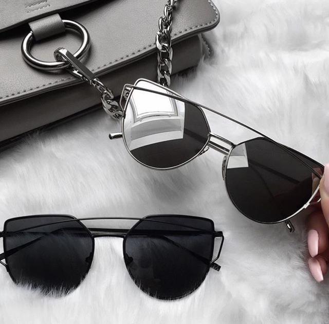 SUNGLASSES #sunglasses #summer #spring #coachella #dressforidol #denimlove #nailart #flatlay #gotolook #shoeslover