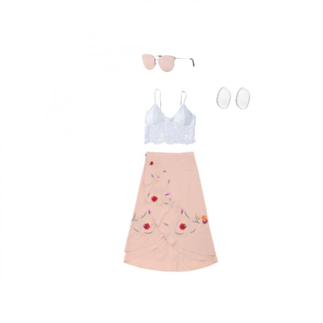 #pink #summer #vintage #flowers