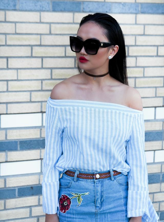 #zaful #outfit #summer #redlips #casual #anneliaaland 