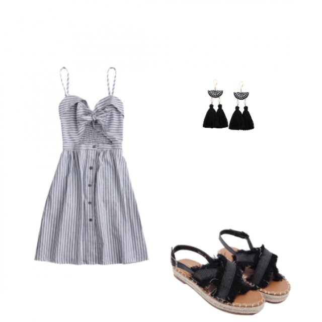 I love this dress and I want to show you a proposal look with this amazing dress