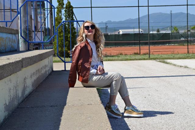 My favorite #look ... http://www.ivanasdiary.com/2017/05/outfit-post-zlatne-cipele-sa.html #shoeslover
