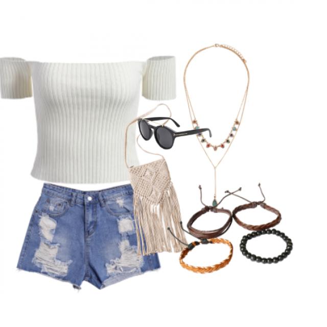 ## Ready for summer days ##  #dressforidol #nailart #shoeslover #springbreak2017 #denimlove #loveselfie #petslover