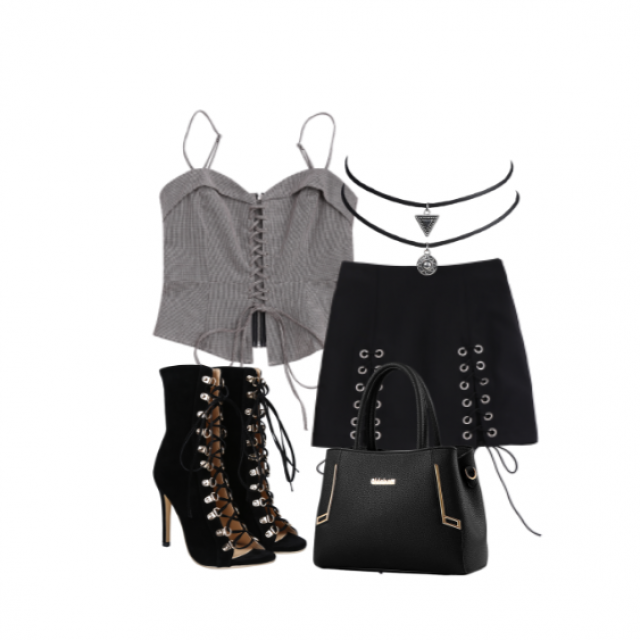 #dressforidol #shoeslover #springbreak2017 #black #classy #outfit