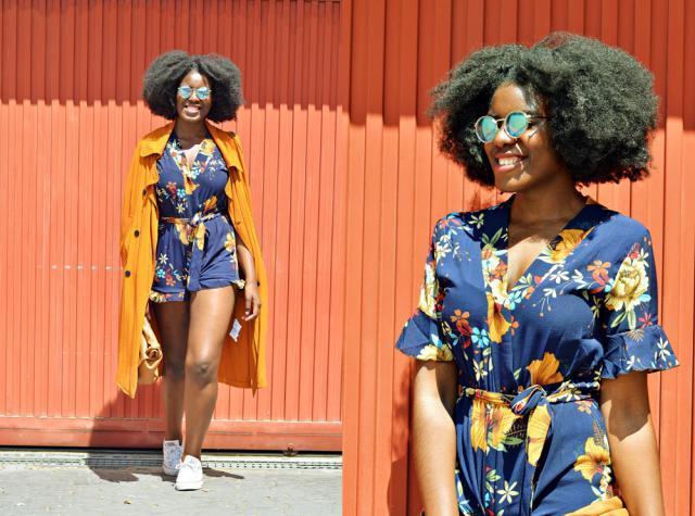 #springbreak2017 #floraljumpsuit #caritrini #fashionblogger