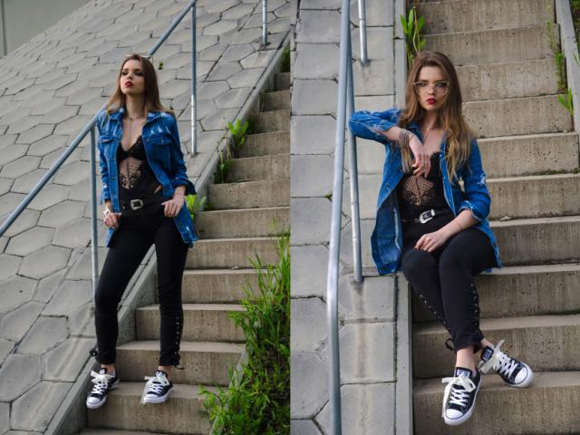 http://madame-marcelline.blogspot.com/ https://www.instagram.com/madame_marcelline/  #grunge #ootd #outfit #jeans