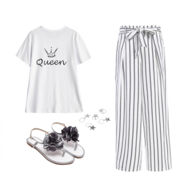 #dressforidol #gotolook #striped