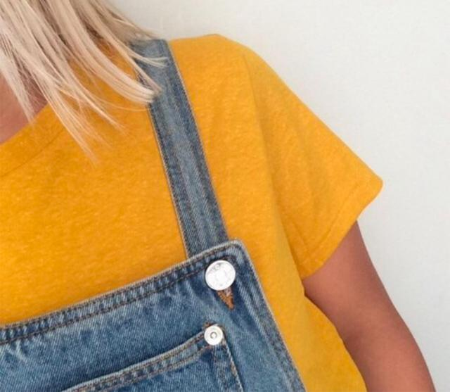 I love yellow and this overall is super cute and comfy, let me know in the comments if you like this! ♥                …