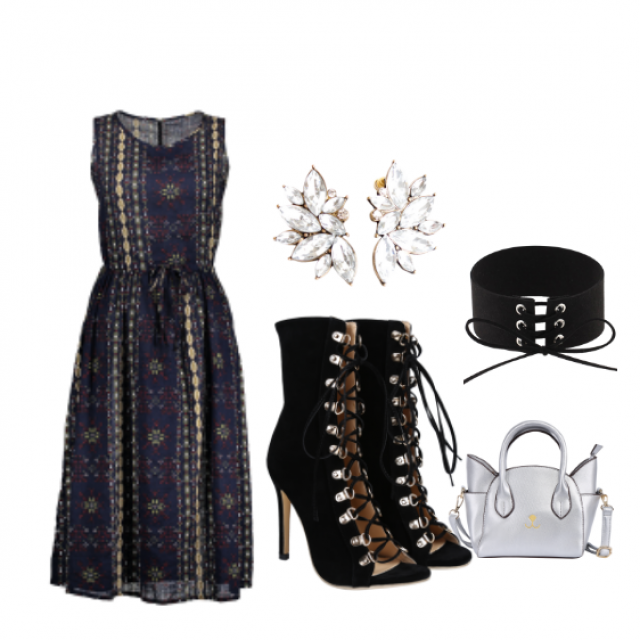 #dressforidol #shoeslover #springbreak2017 #partydress