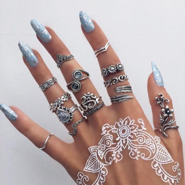 I'm in love with this rings!  do you like it? please let me know in the comments! ♥♥♥♥♥♥♥♥♥♥♥♥♥♥♥♥♥♥                   …