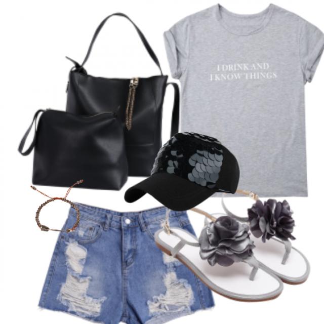 Denim Style!!  #dressforidol #flatlay #denimlove #loveselfie #petslover #gotolook #nailart #shoeslover