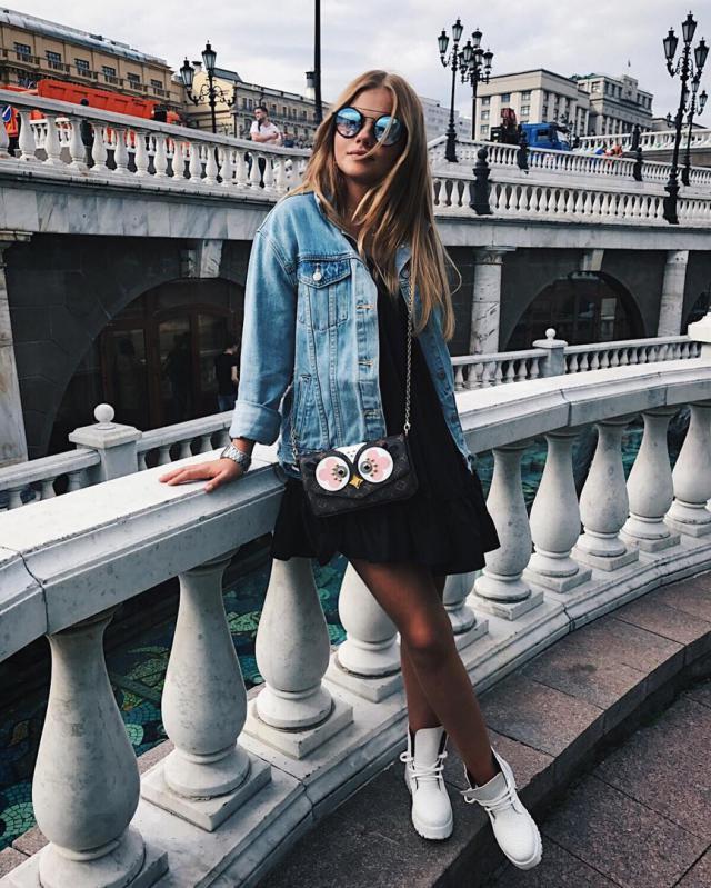 What do you think about this outfit?#denimlove #loveselfie #springbreak2017 #shoeslover  #denim #denimjacket