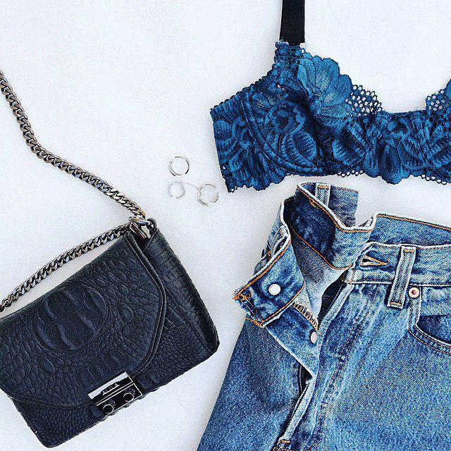 Inhale Fashion Exhale Style #dressforidol #flatlay #denimlove #gotolook #springbreak2017 #bag
