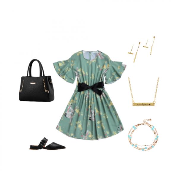 #springbreak2017 #dressforidol #flatlay #gotolook #partydress