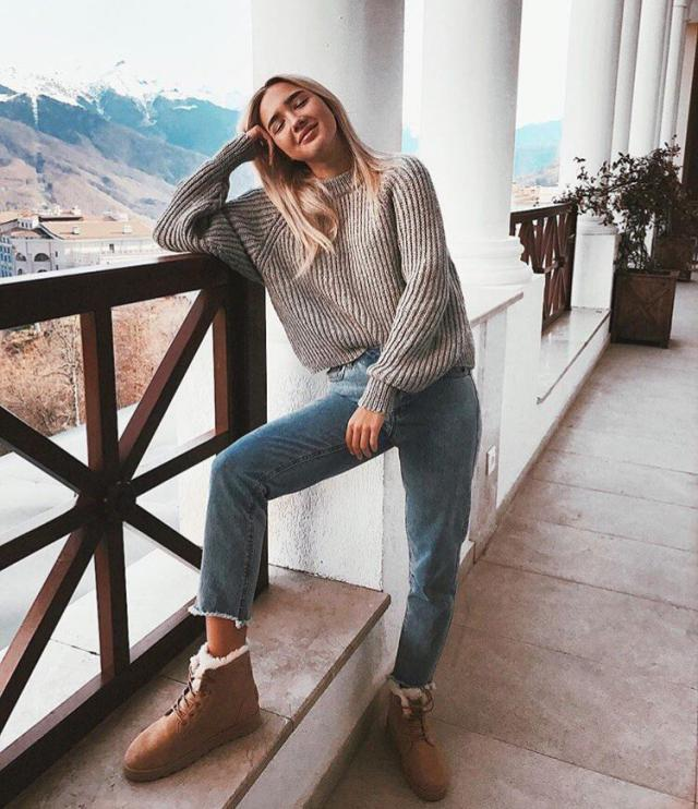 Cozy sweater is so girly and comfy must-have. #dressforidol #springbreak2017 #gotolook #loveselfie #sweater #cozy