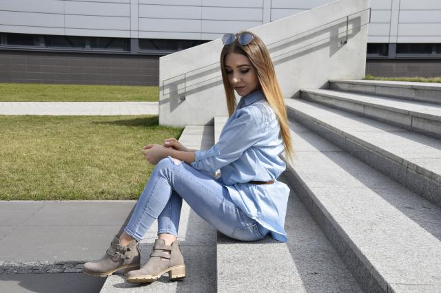 #babyblue #springbreak2017 #denimlove #blondegirl #blogger