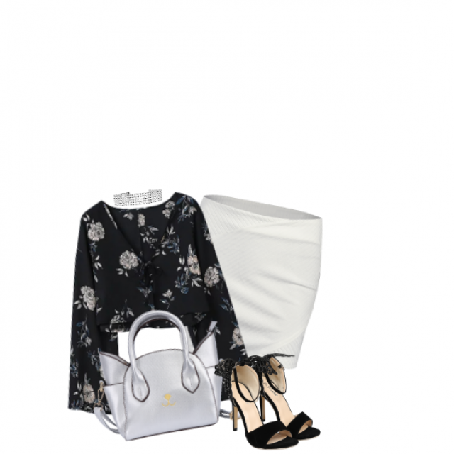 #chic#summer#stylish#getthelook#blackandwhite