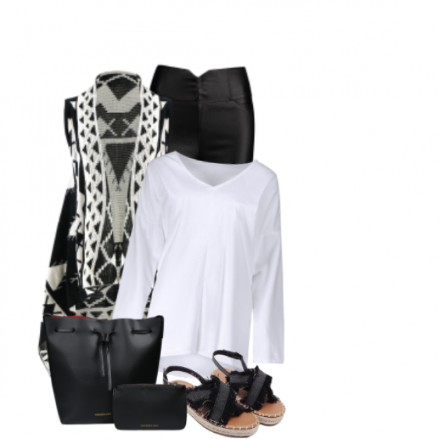 #blackandwhite#pattern#summer#getthelook#shoeslover #gotolook