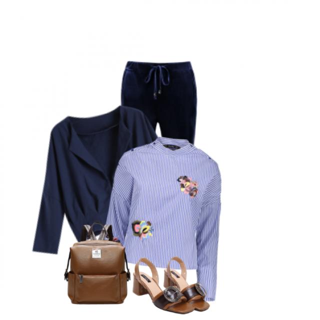 #blue#summer#stylish#striped