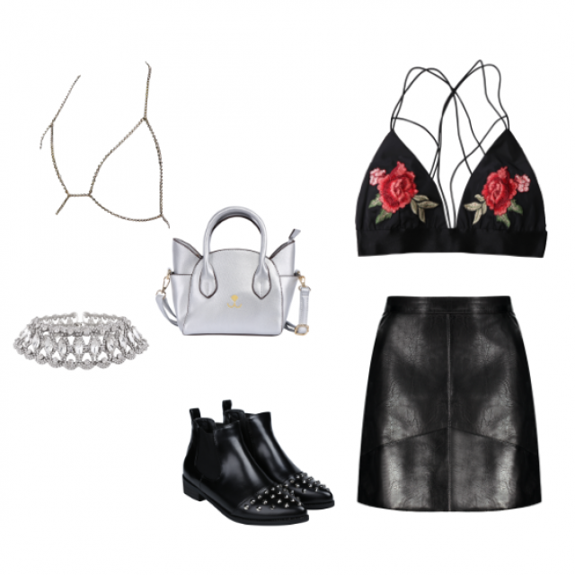 I created this look for Kendall Jenner. #dressforidol